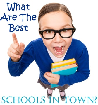 So, what schools are the best in town?