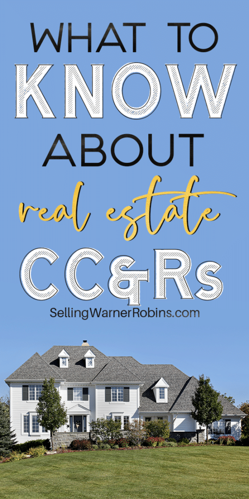 What to Know About Real Estate CC&Rs