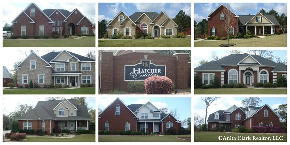 Hatcher Estates Subdivision in Warner Robins GA 31088