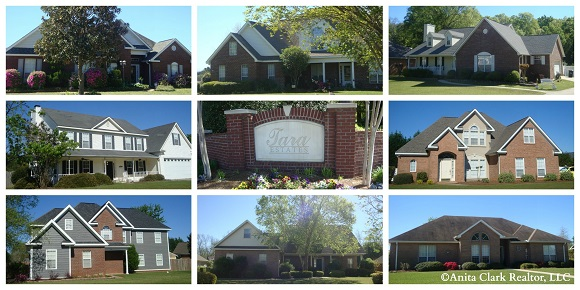 Tara Estates Subdivision in Warner Robins GA 31088
