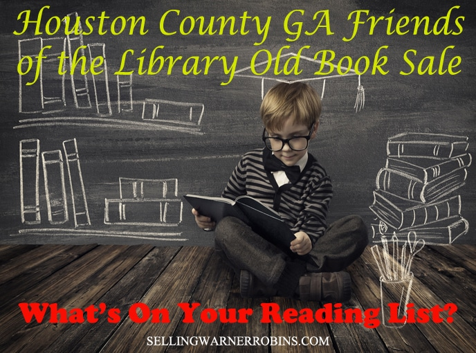 Houston County GA Friends of the Library Old Book Sale