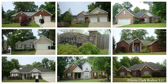 Harpers Ridge Subdivision in Warner Robins GA 31088