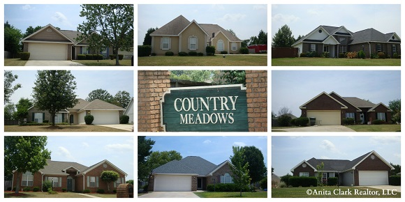 Country Meadows Subdivision in Warner Robins GA 31088