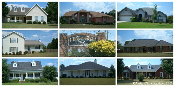 Peachtree Estates Subdivision in Bonaire GA 31005