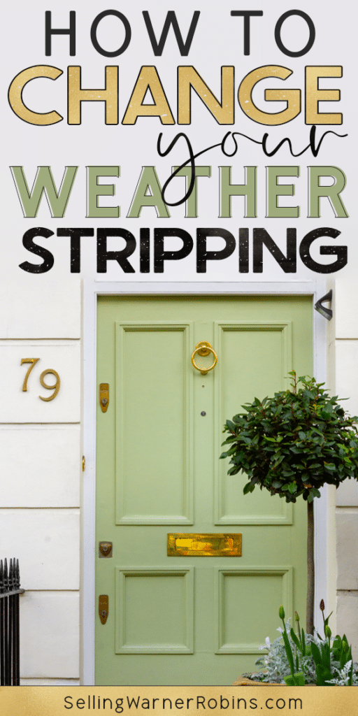 How to Change Your Weatherstripping