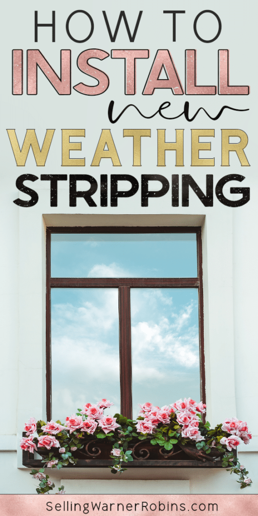 How to Install New Weatherstripping