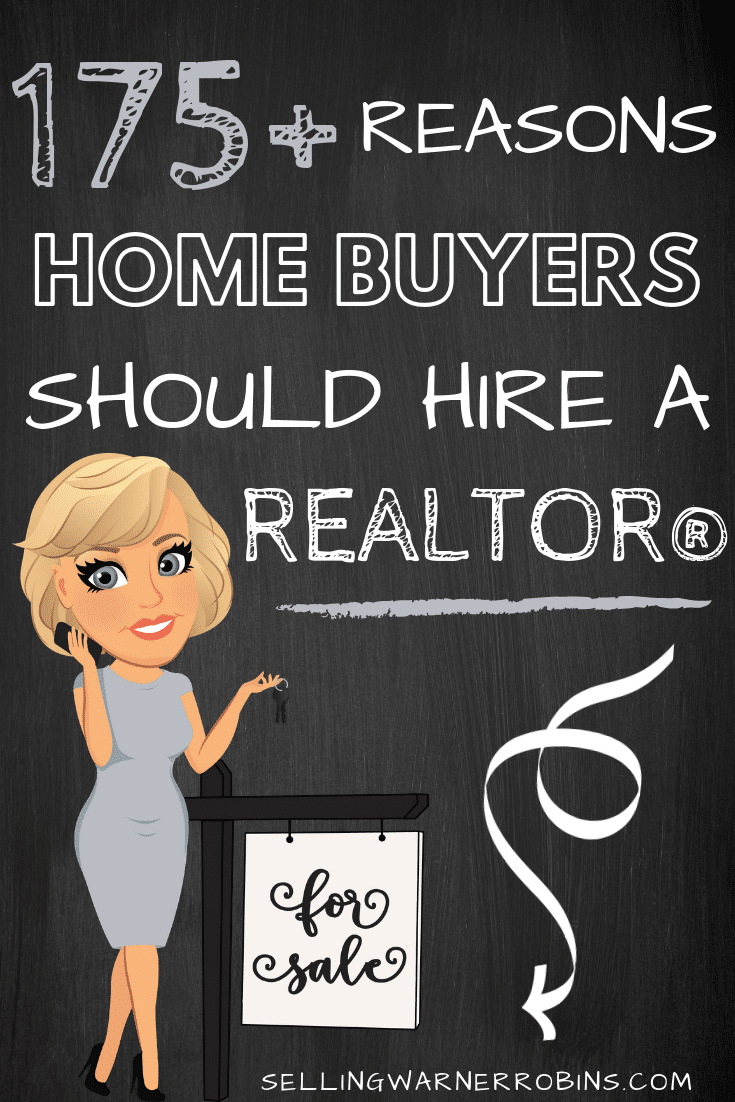 175+Reasons to Hire a Realtor