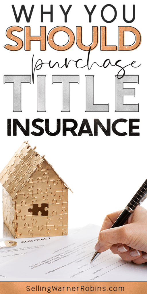 Why You Should Purchase Title Insurance