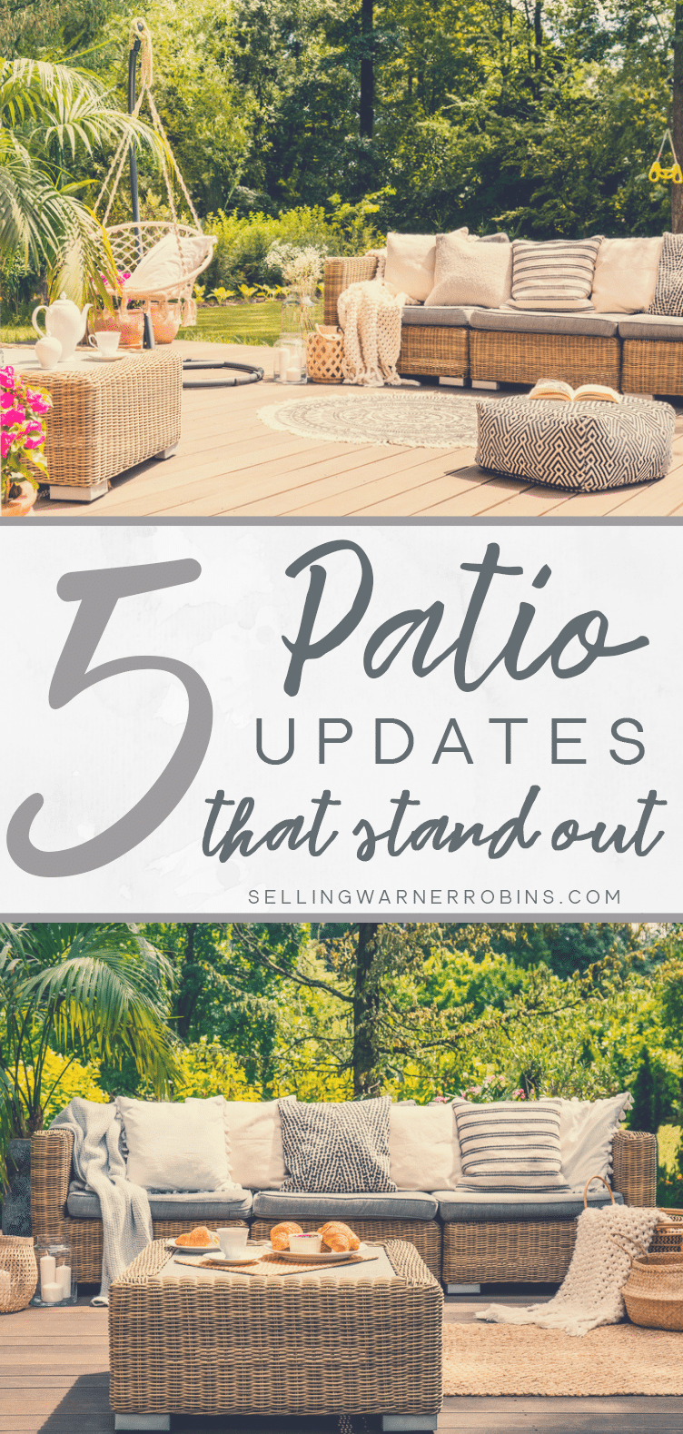 Five Patio Updates That Stand Out