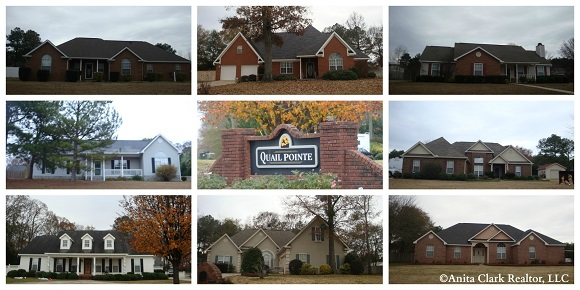Quail Pointe Subdivision in Warner Robins GA 31088