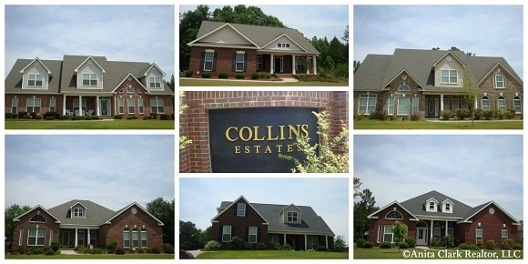 Collins Estates Subdivision in Centerville GA 31028