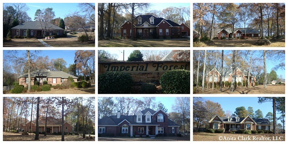 Imperial Forest Subdivision in Warner Robins GA 31088