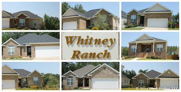 Whitney Ranch Subdivision in Warner Robins GA 31088
