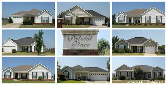 Patriot Place Subdivision in Warner Robins GA 31088