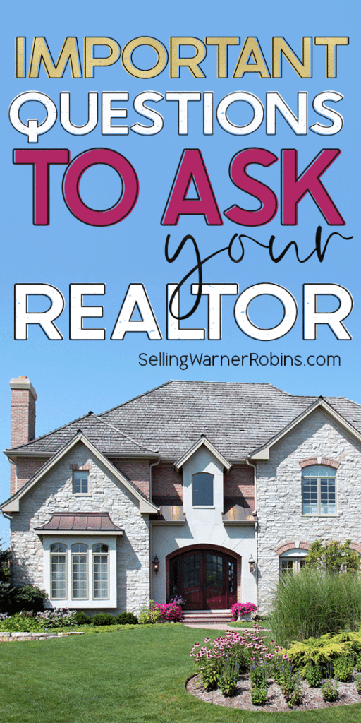 Important Questions to Ask Your Realtor