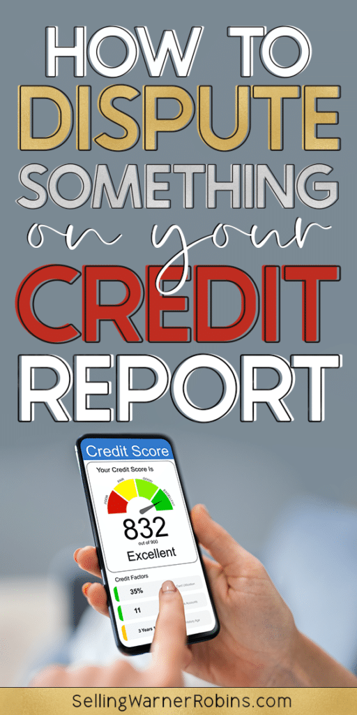 How to Dispute Something on Your Credit Report