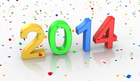 Happy New Year - 2014 is Here!