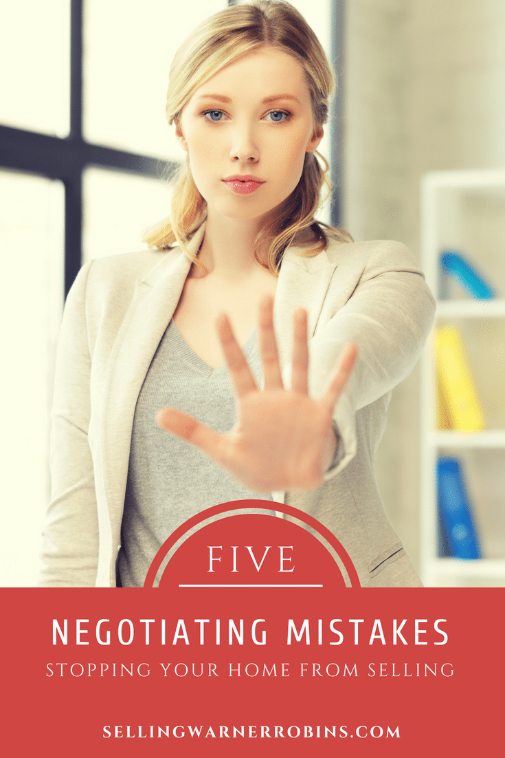 Negotiating Mistakes Home Sellers Make