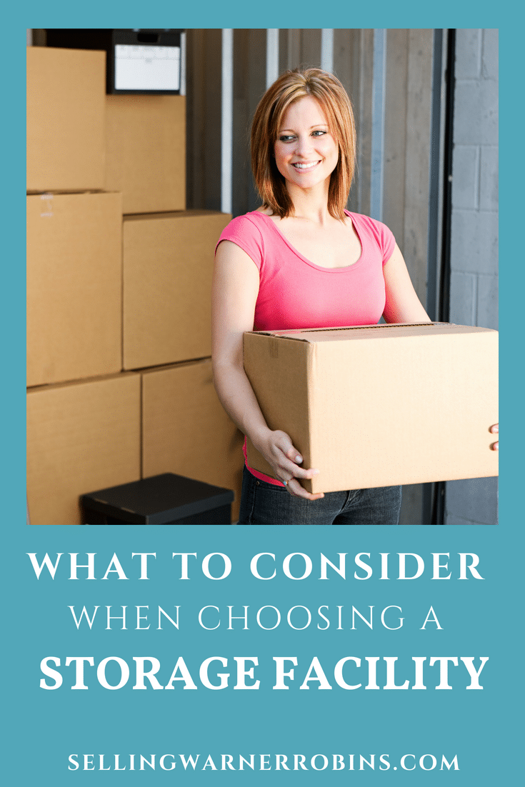 What to Look For When Choosing a Storage Facility for Your Stuff