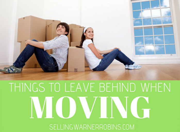 Things to Leave Behind When Moving