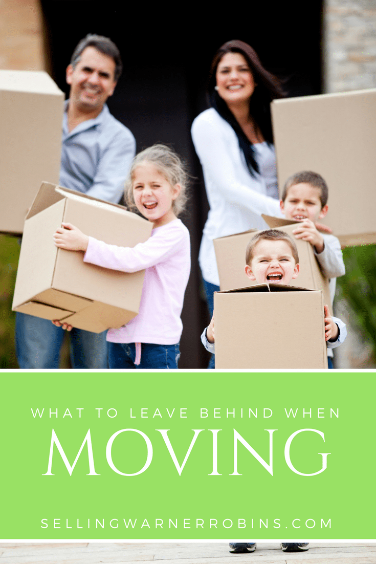 Things to Leave Behind When Moving Between Houses
