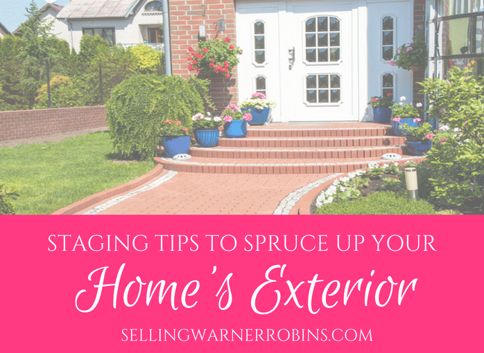 Staging Tips to Spruce Up the Exterior of Your Home