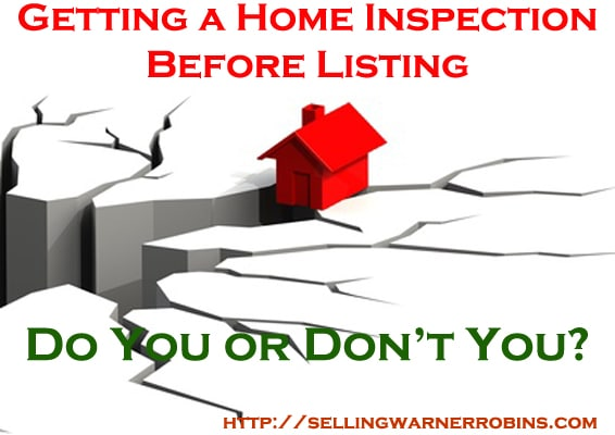 Do You Get a Home Inspection Before Listing Your Home