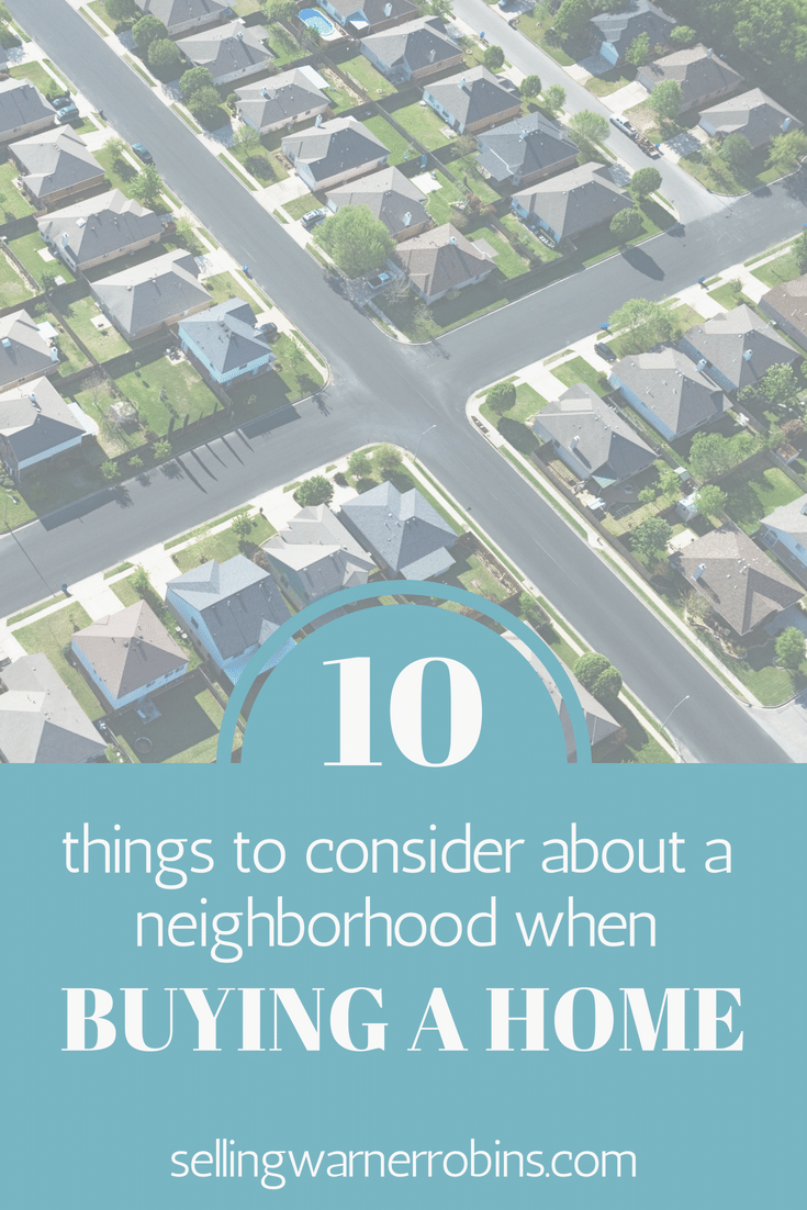 Things to Consider About a Neighborhood When Buying a House
