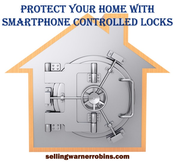 Protect Your Home with Smartphone Controlled Locks