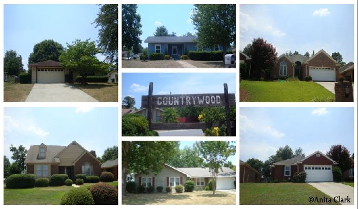 Countrywood Subdivision in Warner Robins GA 31088