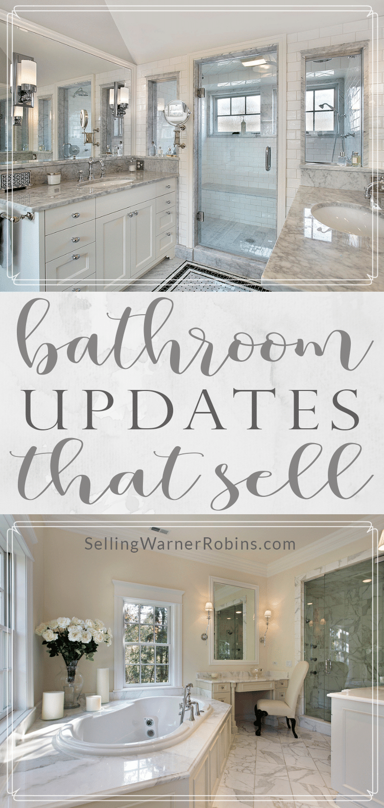 Bathroom Updates That Sell