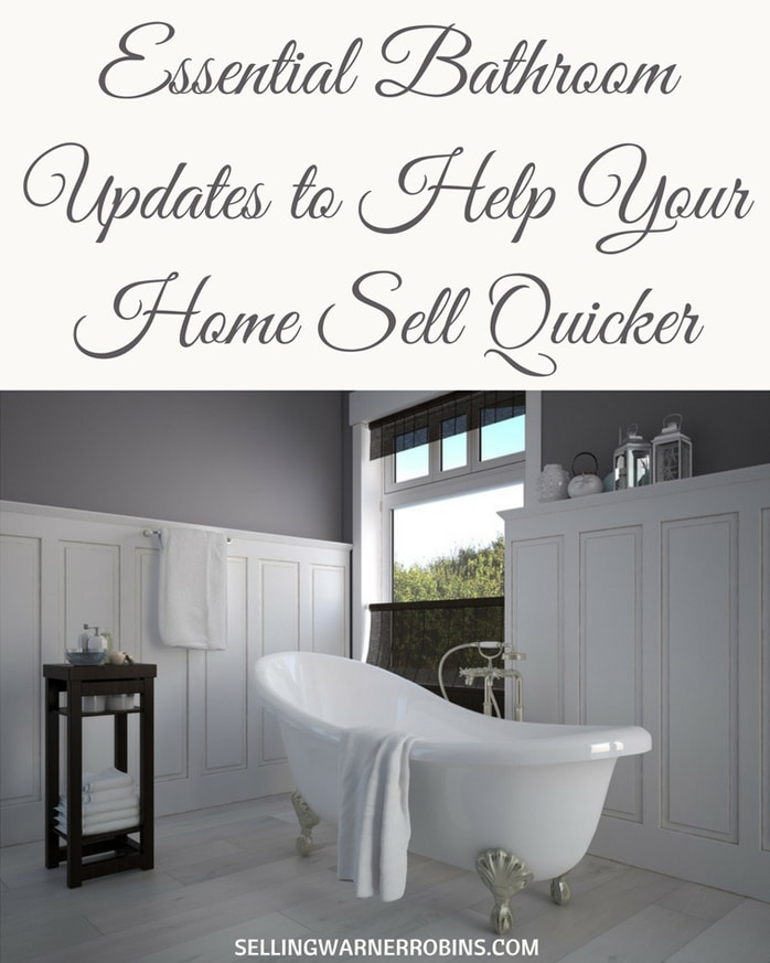 Essential Bathroom Updates to Help Your Home Sell Quicker