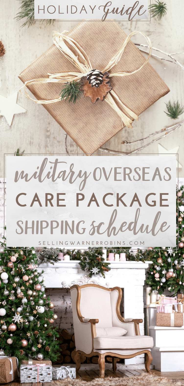 shipping care packages overseas