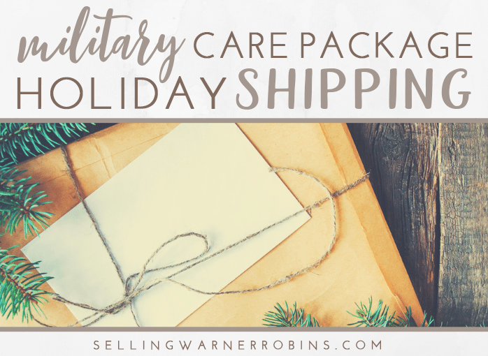 Shipping Care Packages