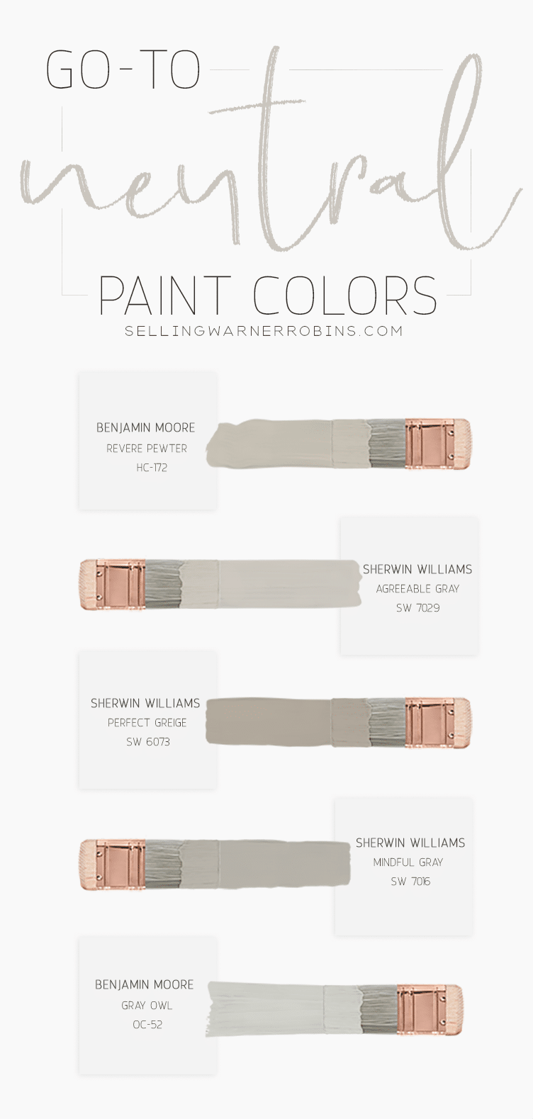 Go-To Neutral Paint Colors for Your Home Addition