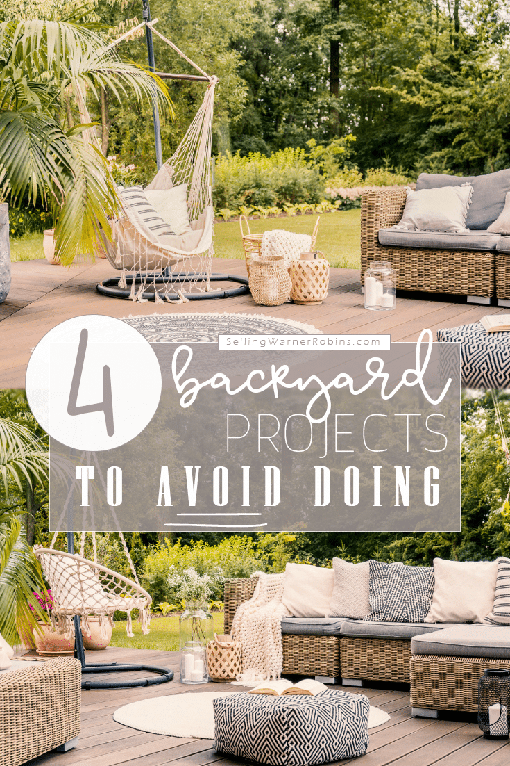 Backyard Projects to Avoid Doing