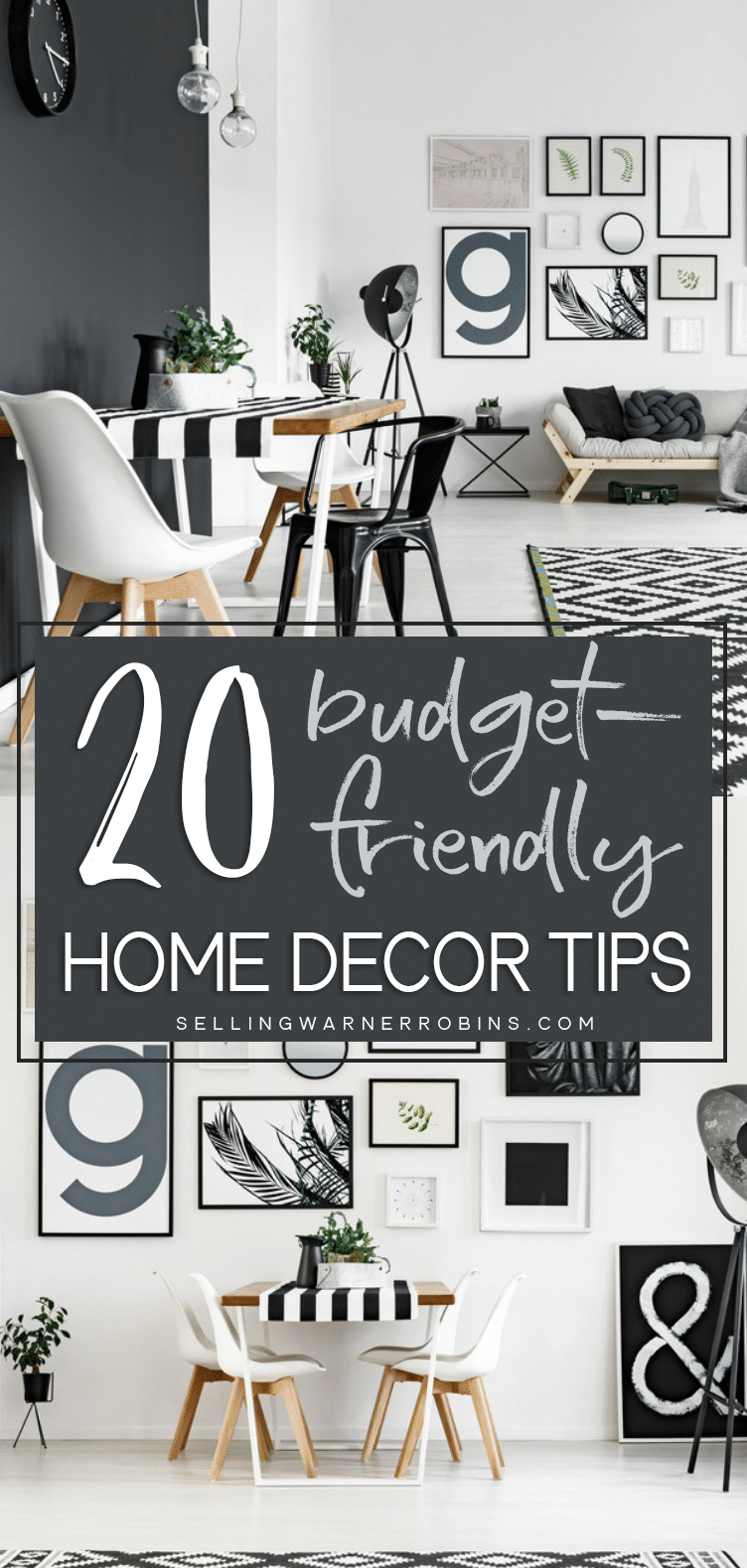 ways to save money when decorating your home