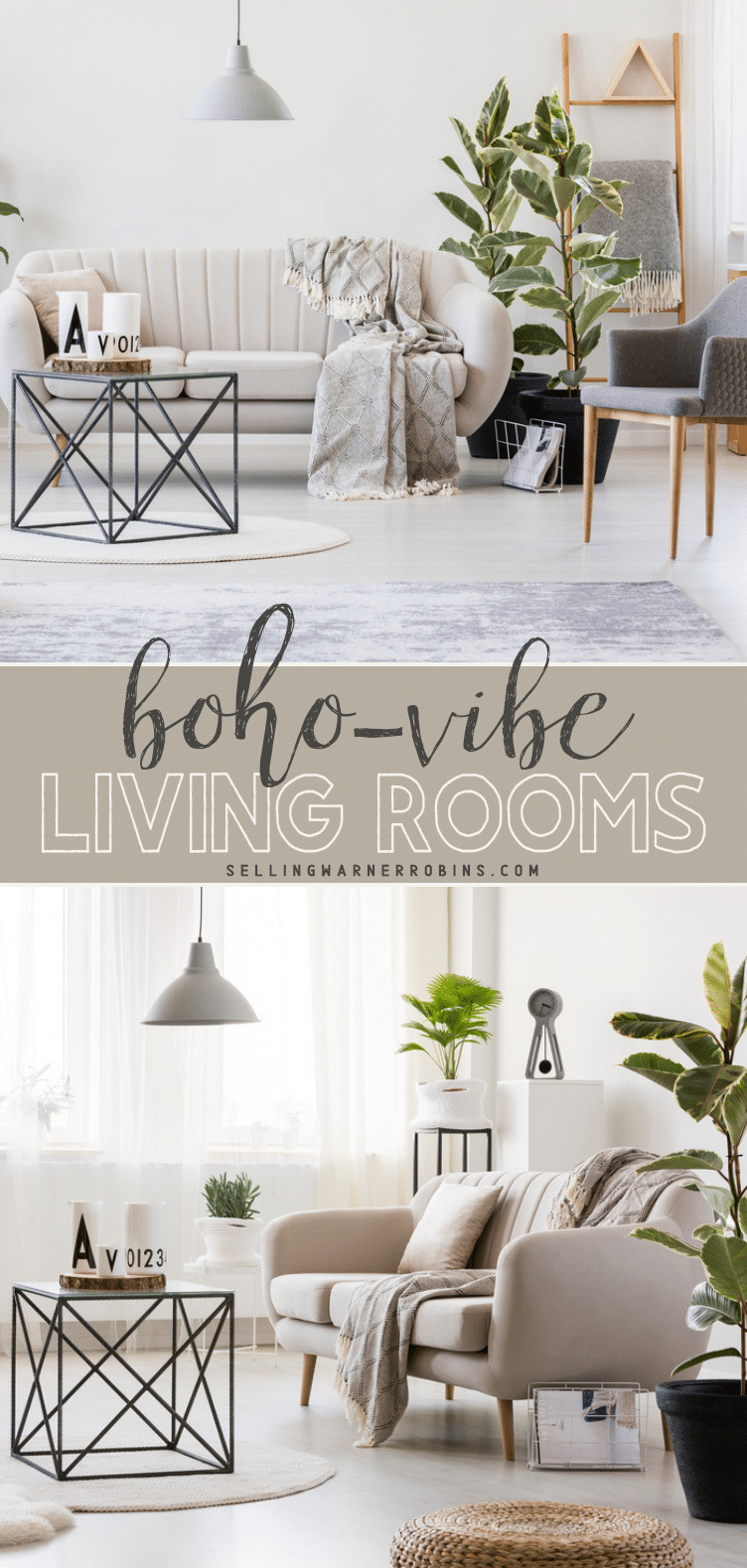 Boho-Vibe Living Room Ideas