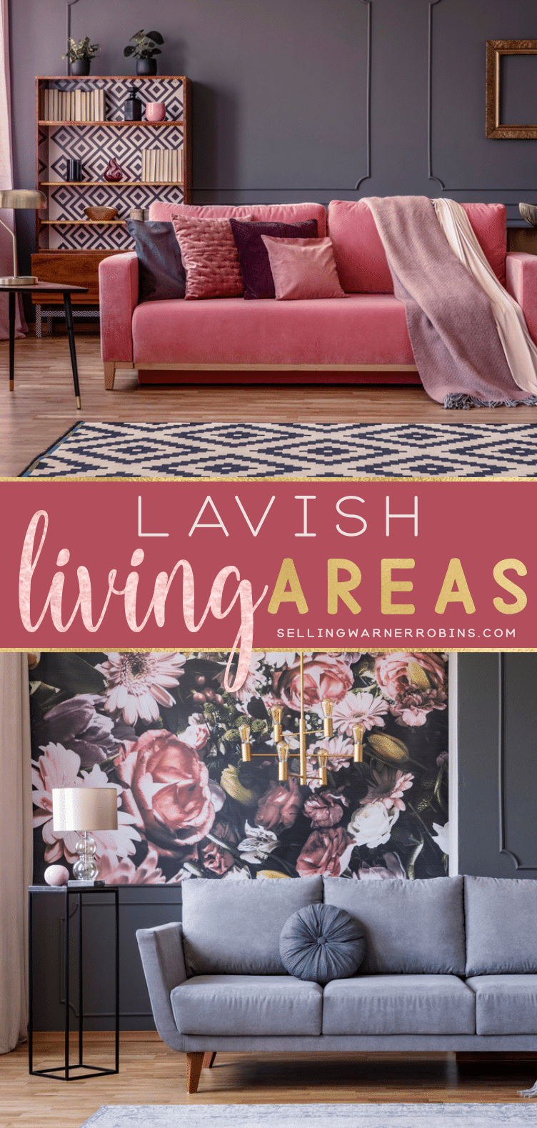 Lavish Living Area Ideas