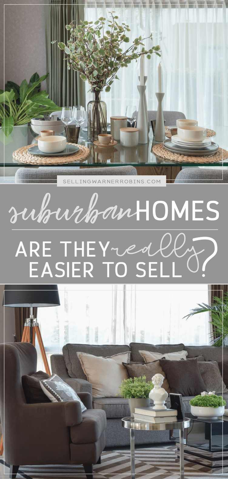 Are Suburban Homes Really Easier to Sell?