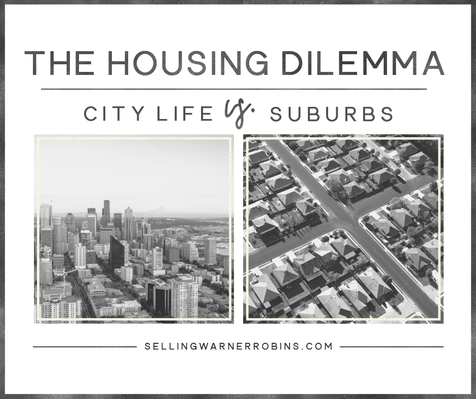 City vs. Suburbs Housing Dilemma