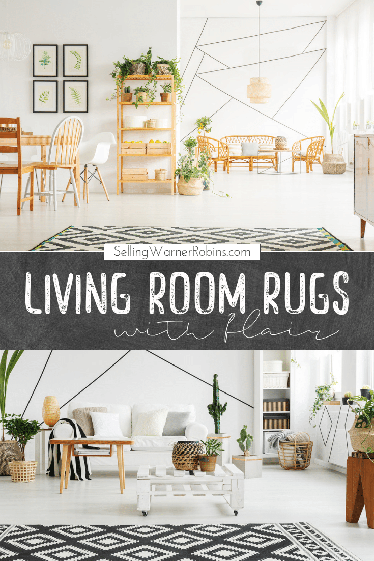 Living Room Rugs that Add Flair