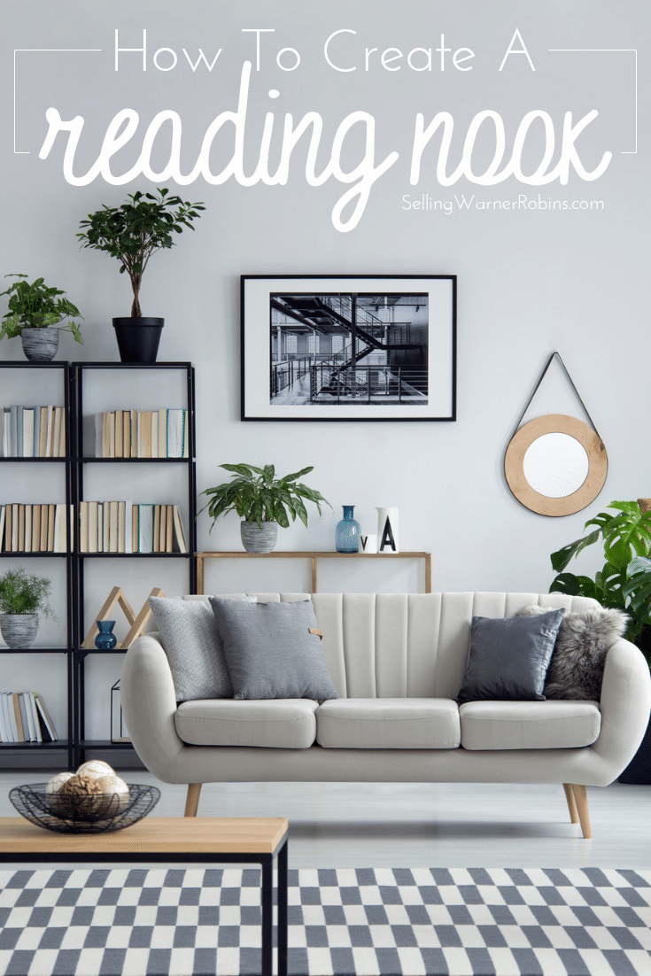 How to Create a Living Room Reading Nook