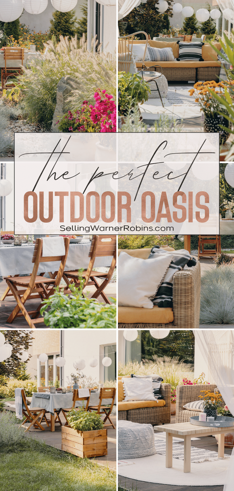How to Create the Perfect Outdoor Oasis
