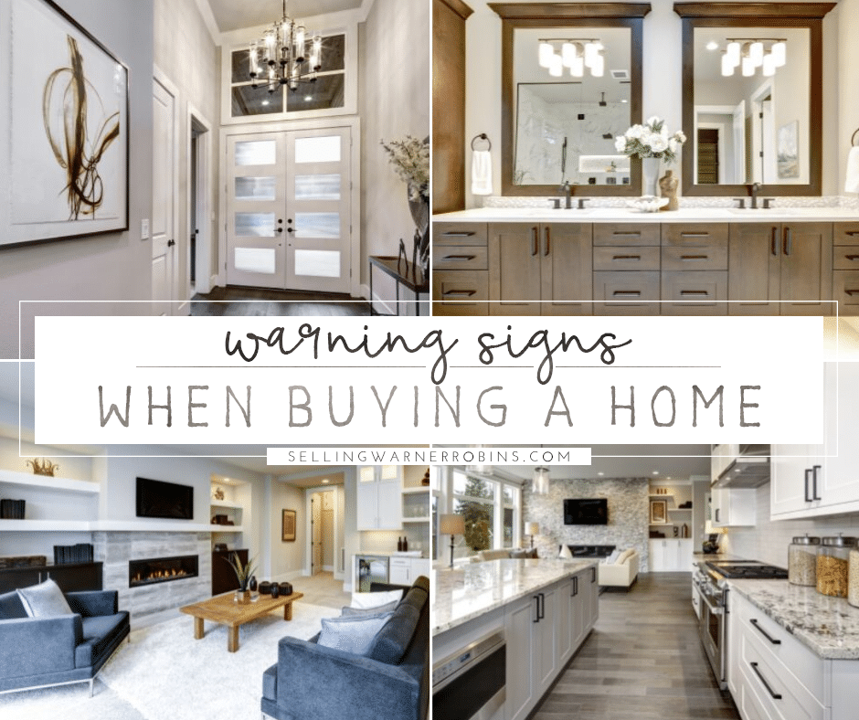 Key Warning Signs When Buying a Home