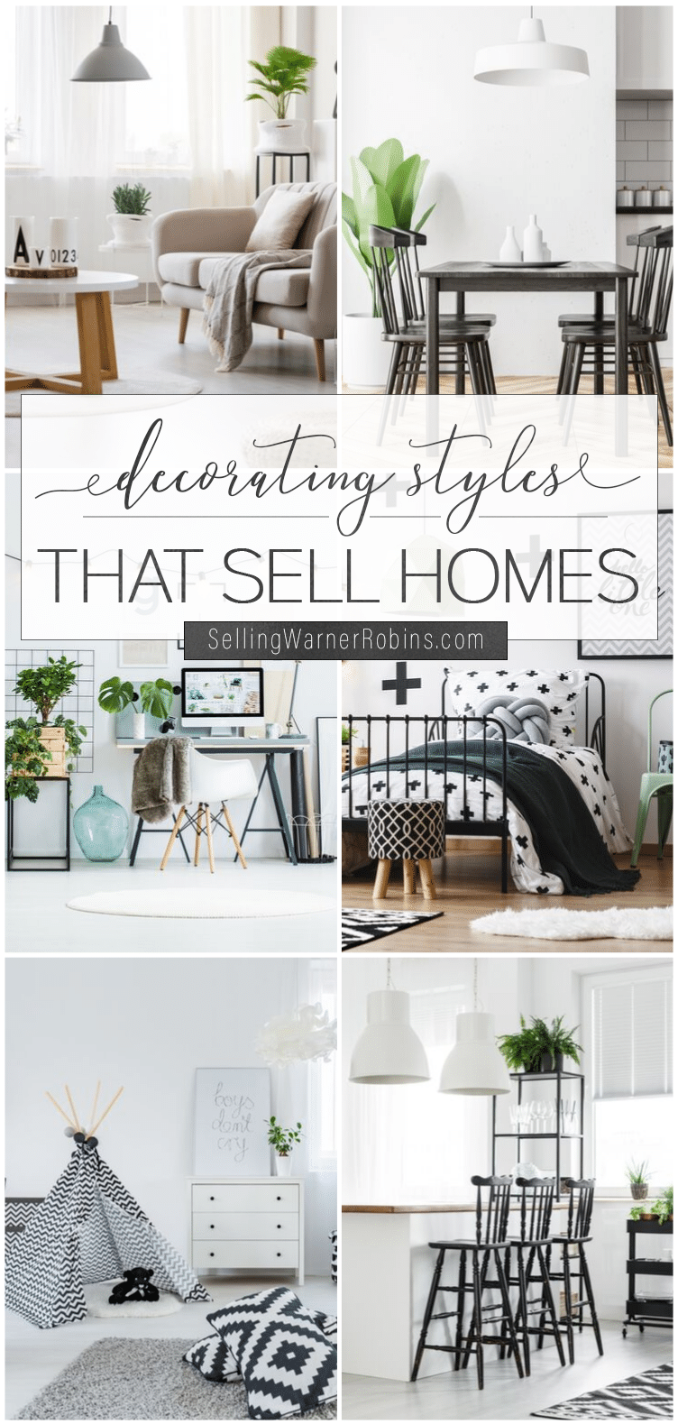 Decorating Styles that Sell Homes
