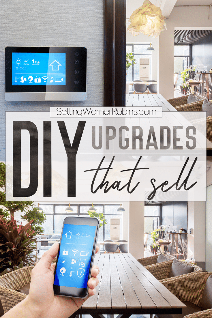 Smart technology is all the rage in homes, especially with Millennial home buyers! Take a look at one of the best ways to turn your house into a smart home. It's affordable and even easy to do yourself! #diyprojects #diyhomeremodeling #homeprojects #realestate #sellmyhome #homeimprovement