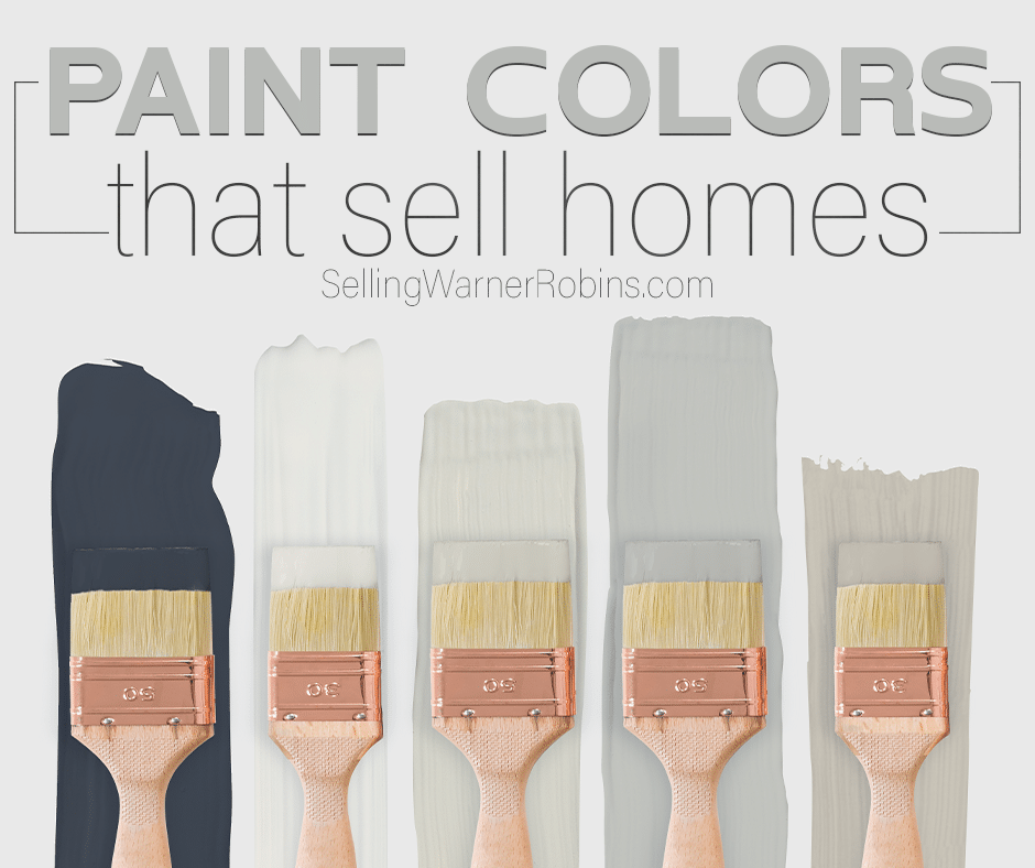Paint Colors to Use When Selling Your House