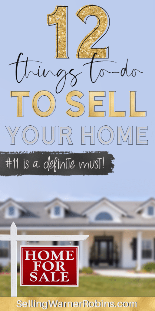 12 Things To Do To Sell Your Home