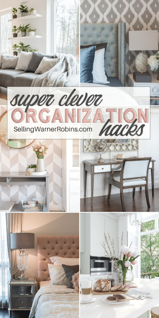 Super Clever Organization Hacks for Your Home